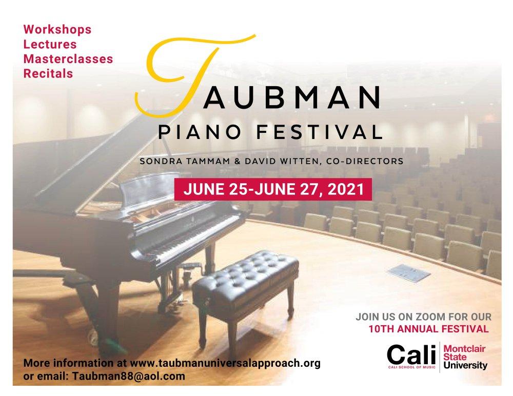 Taubman Piano Festival