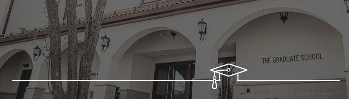 Graduate School banner