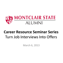 Turn job interviews into offers
